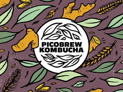 PicoBrew Kombucha - Ginger Malt