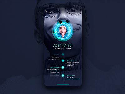User Profile uitrends dribbble dribbbler designinspiration webdesign graphicdesign uidesign uxdesign design appdesign userprofile dailyui