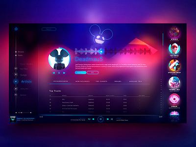 Music Player uitrends dribbbler designinspiration appdesign webdesign graphicdesign uidesign uxdesign design music player dailyui