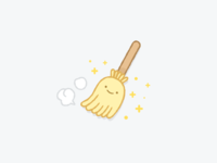 Happy Broom Stick