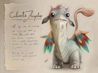 Bestiarius nº 1 illustration character design