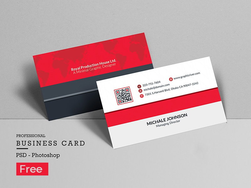 Free Clean Business Card cyan creative corporate clean style card design business card business blue black