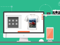 How Can Your Customers Add Images To T Shirts Using Brush Your I
