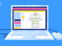 How Do Text Features Work In Brush Your Ideas T Shirt Design Too