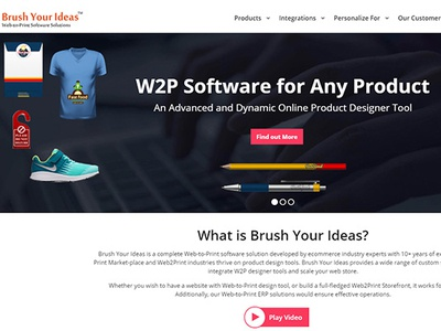 Web to Print Storefront Solutions - Web-to-Print Software