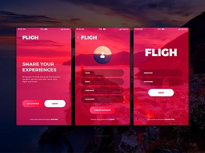 Fligh travel form createaccount signup login dailyui