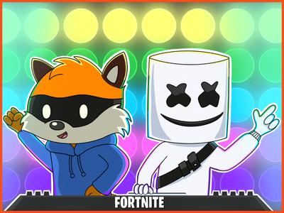 Fox and Marshmello