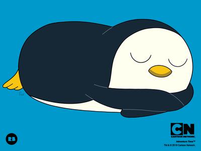 Sleepy Gunter the Penguin!