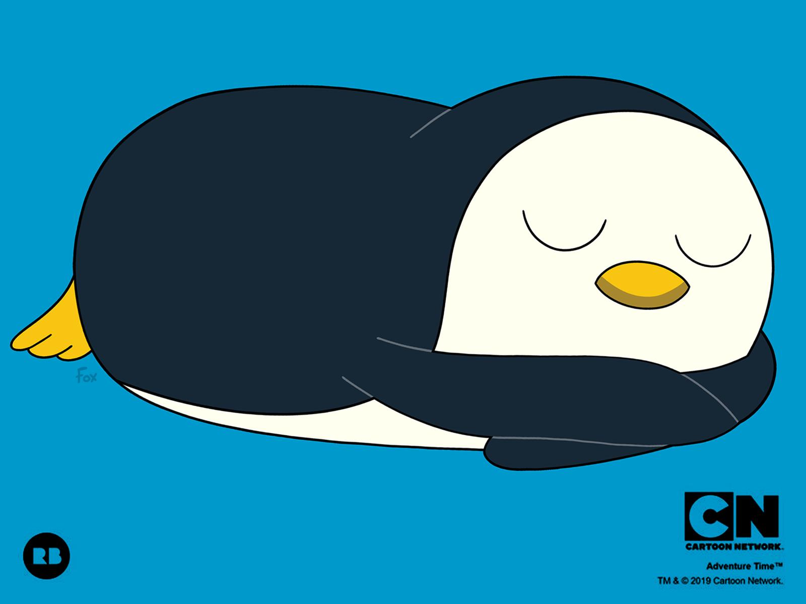 Sleepy Gunter The Penguin By Charley Fox On Dribbble