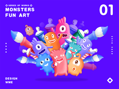 MONSTERS 01 wme illustration