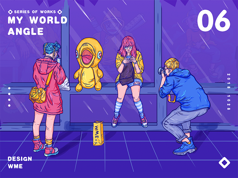 my world-06 Angle by Wme for RED on Dribbble