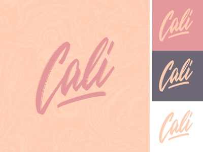 Cali lettering logo sketch label california cali apparel sketch packaging clothing fashion mark script typography type brush design branding hand lettering logotype logo calligraphy lettering