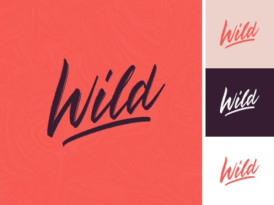 Wild lettering logo sketch handlettering label wild apparel sketch packaging clothing fashion mark script typography type brush design branding hand lettering logotype logo calligraphy lettering