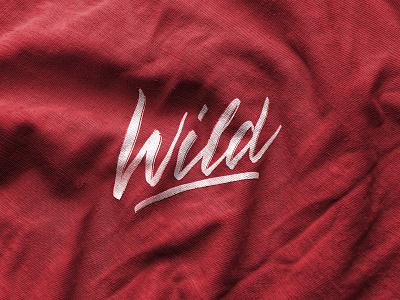 Wild lettering logo design wild label handlettering apparel sketch packaging clothing fashion mark script typography type brush design branding hand lettering logotype logo calligraphy lettering