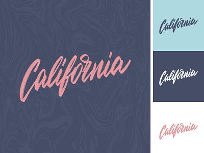 California lettering sketch label handlettering california apparel sketch packaging clothing fashion mark script typography type brush design branding hand lettering logotype logo calligraphy lettering