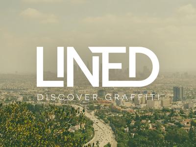 Lined - Discover Graffiti graffiti photography logo type lettering branding
