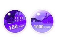 Sleep badge 13