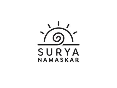 Logo for Yoga Mat logo monoline line math yoga illustration