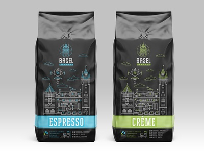 Basel Kaffee - packages (concept)