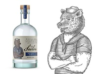 """Label for GIN """"The Sailor"""""""