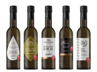 Logo and label proposals for New Zealand olive oil