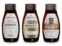 Proposals for honey logo and label
