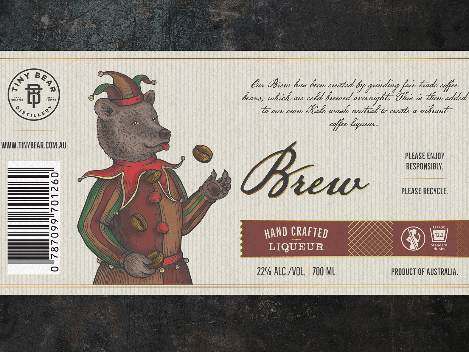 Full label brew