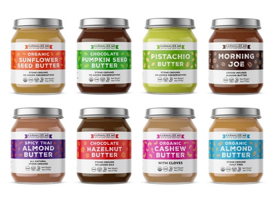 New labels for nut butters