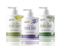 Hand Soap labels design