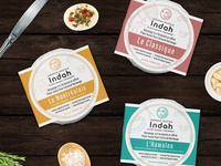 Logo, labels and illustrations for Plant-Based Creamery