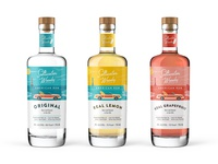 American Rum Labels design