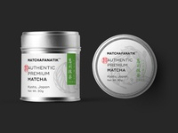 Label design - authentic matcha