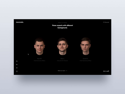 Our Heads Page Animation