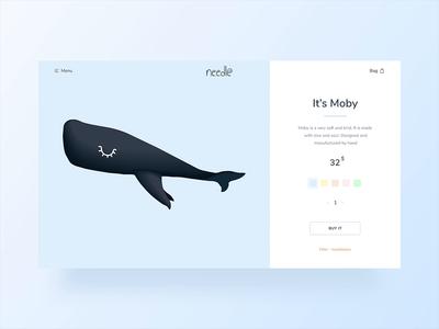 Needle / E-commerce / Product Card / Animation