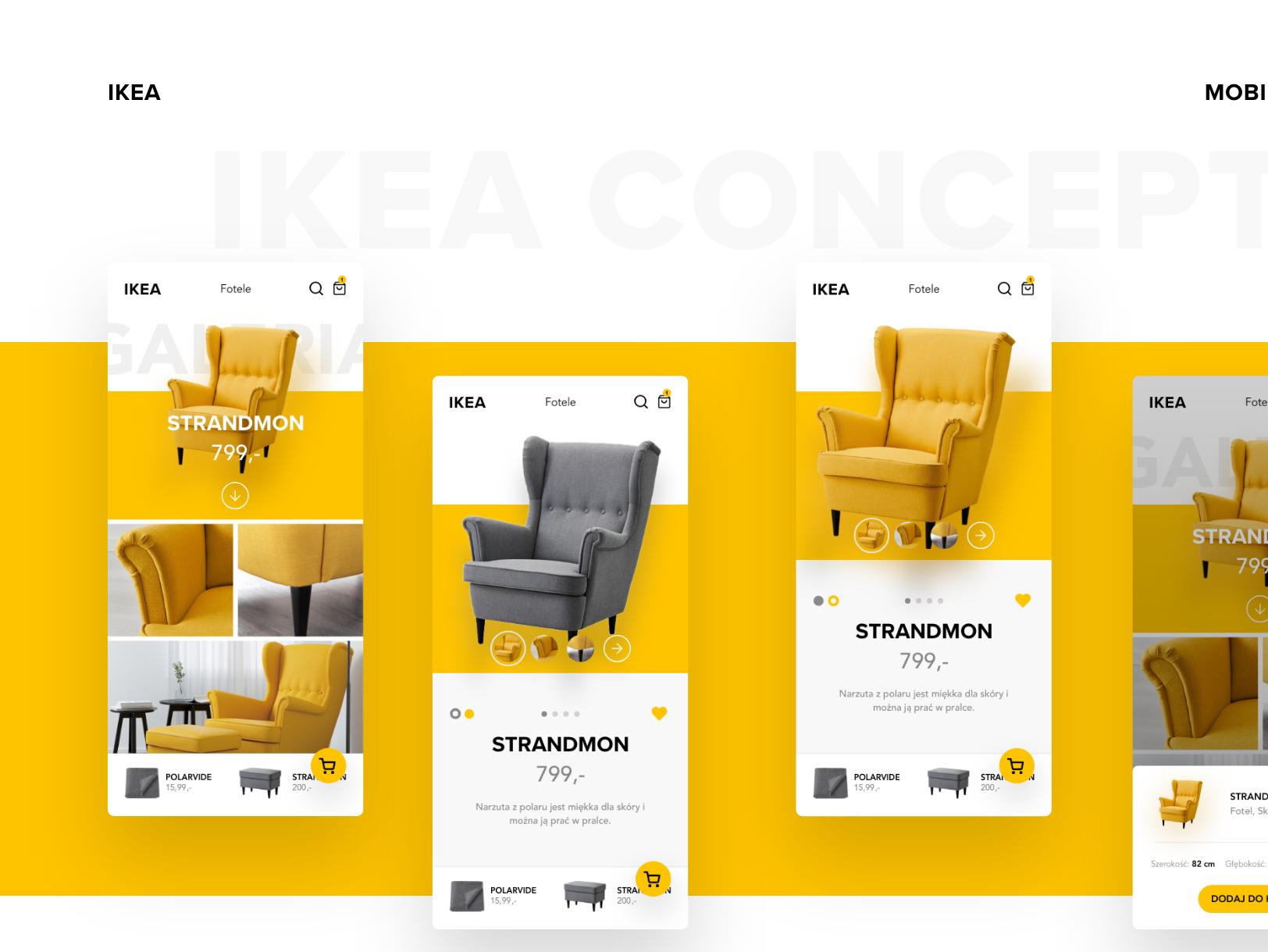 Ikea Mobile App By Damian On Dribbble