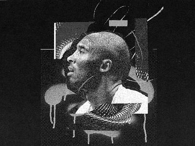 Mamba Mindset snake collage basketball nba kobe bryant mamba kobe