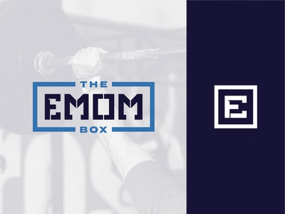 The EMOM Box wod stencil exercise workout fitness emom crossfit
