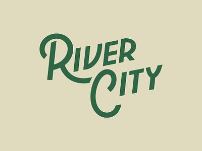 River City II river typogaphy type script virginia richmond