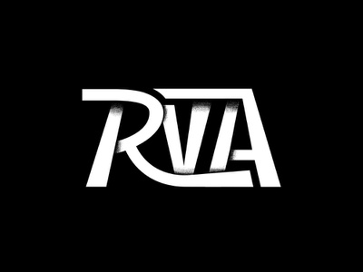RVA lettering type virginia richmond rva