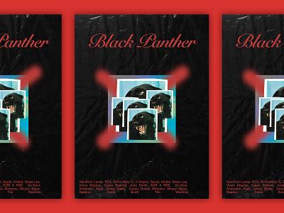 Black Panther Poster hiphop rap graffiti poster music black panther panther