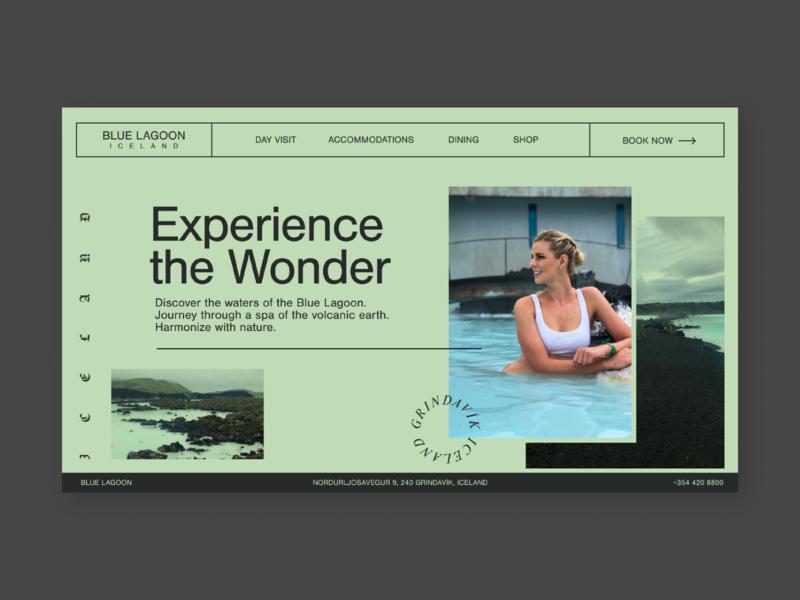 Blue Lagoon Homepage