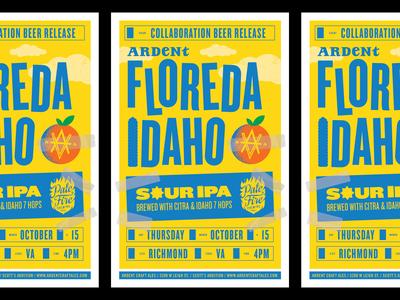 Ardent Floreda Idaho Poster
