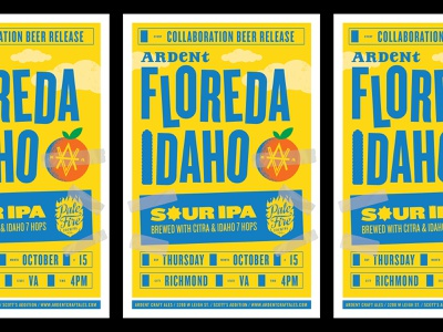 Ardent Floreda Idaho Poster tape clouds fruit oranges simpsons poster