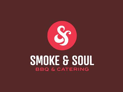 Smoke & Soul BBQ richmond food and drink restaurant food logo monogram ampersand smoke