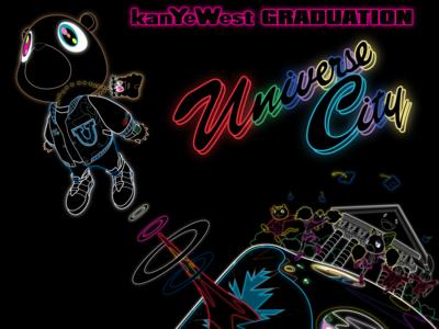 Neon Vector/Remastered Takashi Murakami Graduation Art