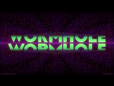 Wormhole/Typography Art Vector Logo 2019 tourmaline logo typography wormhole illustrator illustration vector josh edger jaedger