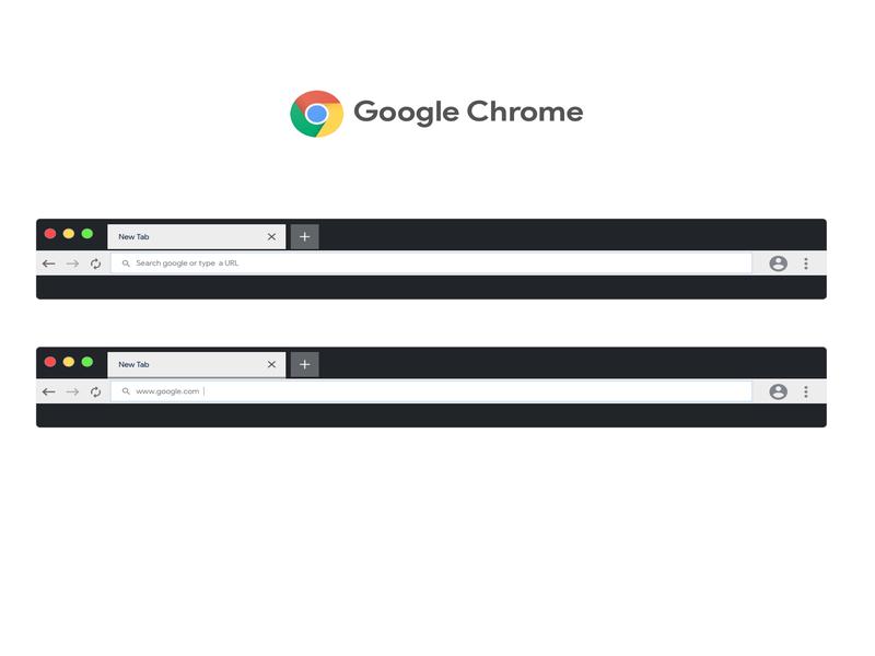 Google Chrome Material Design by Saransh Sharma on Dribbble