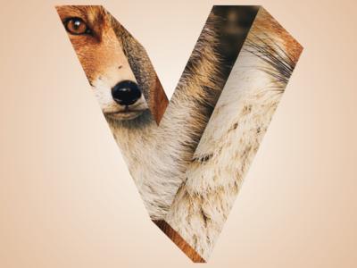 Phreaky Photo-Letters: V for Vixen