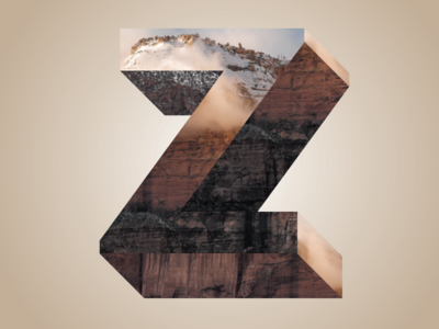 Phreaky Photo-Letters: Z for Zion