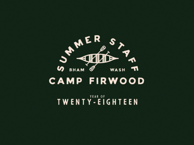 Summer Staff 2018 kayak canoe camping camp paddle boat 2018 washington bellingham camp firwood staff summer